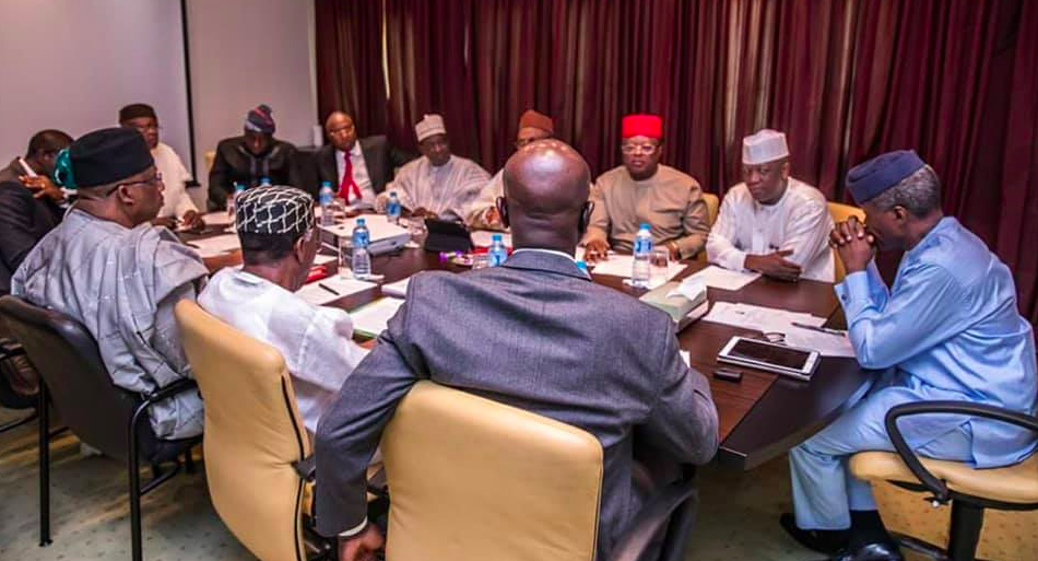 Herdsmen/Farmers violence - meeting presided over by Vice President Yemi Osinbajo