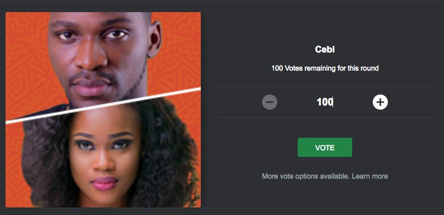 BBNaija, how to vote