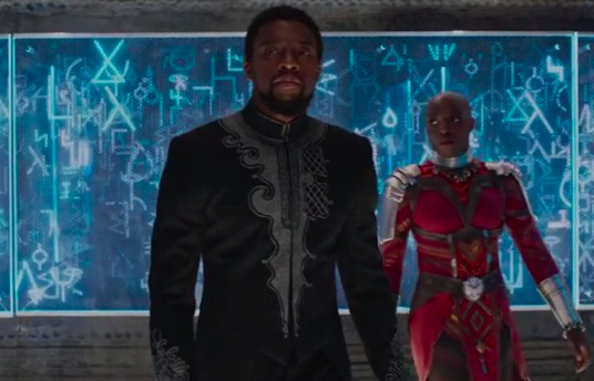 T'Challa and Okoye