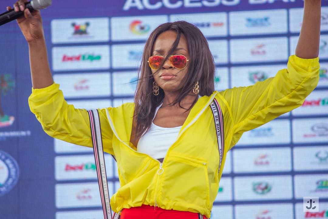 Seyi Shay, Lagos Marathon