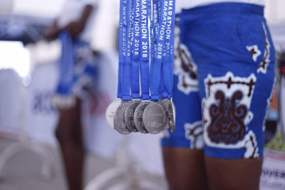 Lagos Marathon - Medals