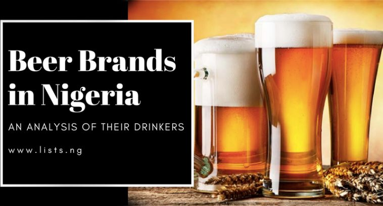 Beer brands in Nigeria