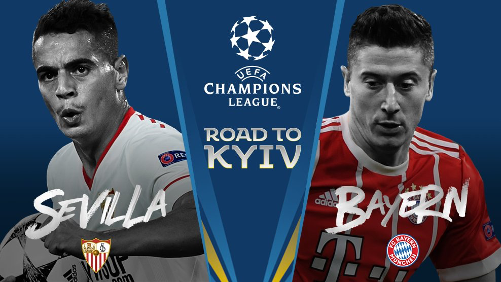 UCL Draw Fixtures, Sevilla vs Bayern
