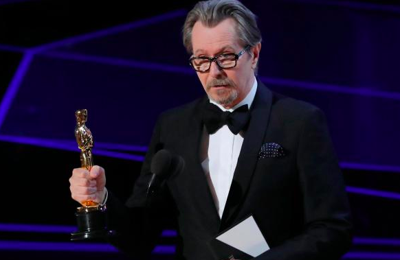 Gary Oldman, best actor Oscar 2018