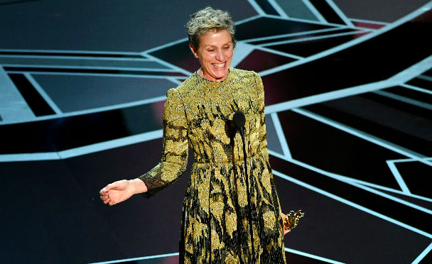 Frances McDarmond, best actress, 2018 Oscar