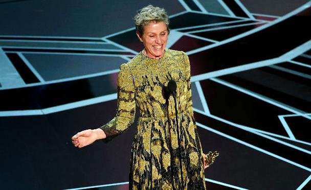Frances McDarmond, best actress, 2018 Oscar