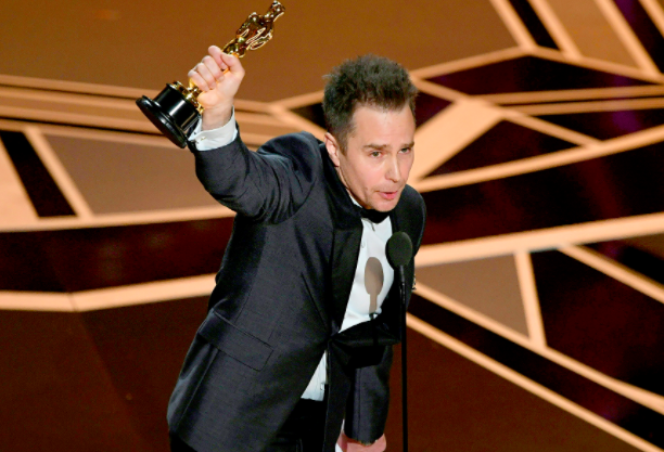 Sam Rockwell, best supporting actor, 2018 Oscars