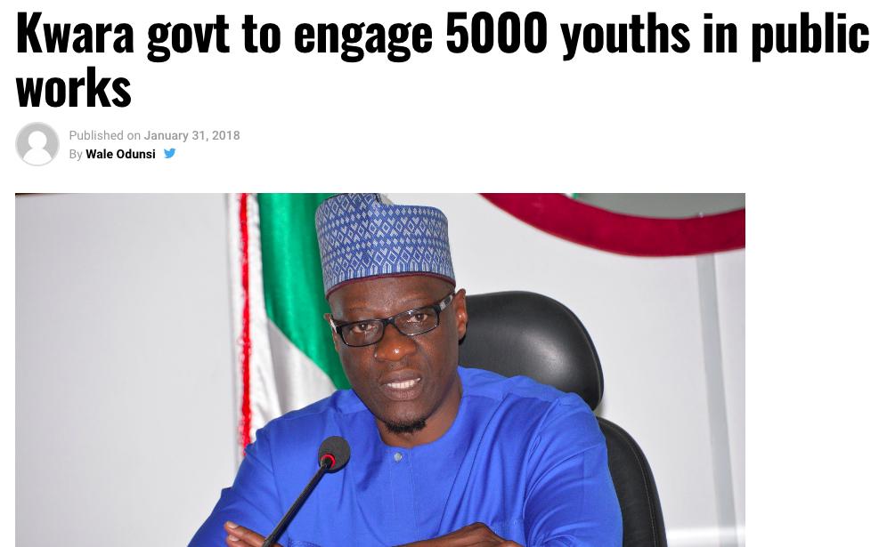 Kwara Governor, Progressive Governors