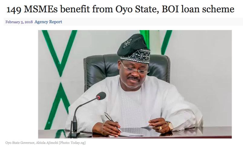 Oyo State, Progressive Governors