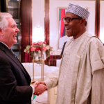Rex Tillerson and Muhammadu Buhari