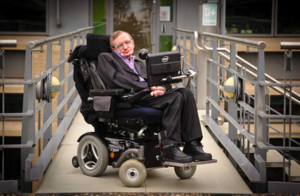 Stephen Hawking machine