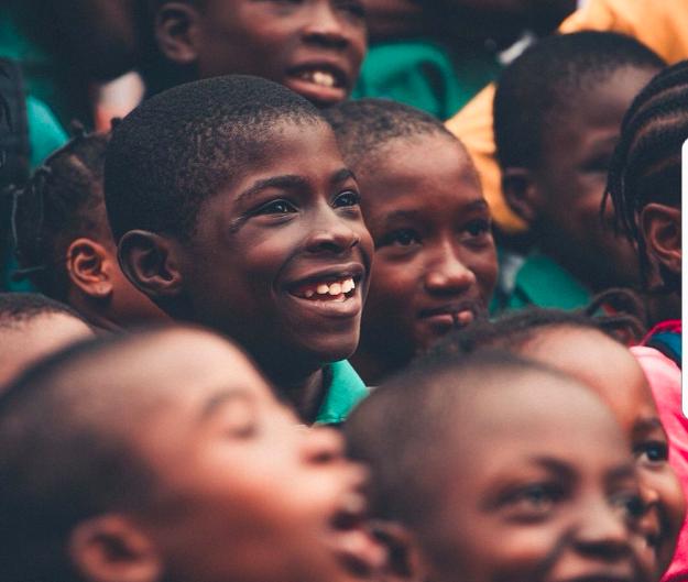 Happy Nigerian kids