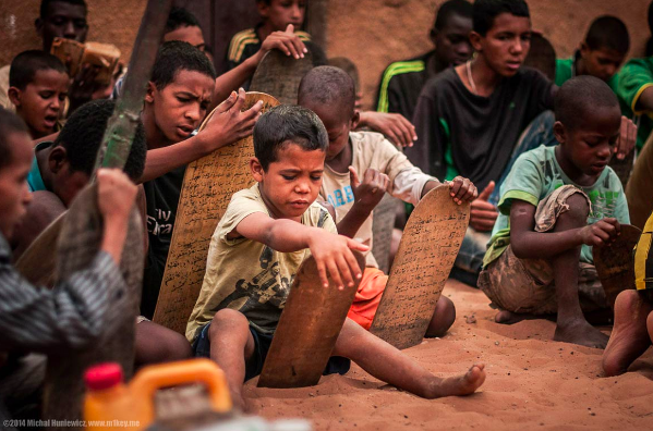 Kids from Mauritania