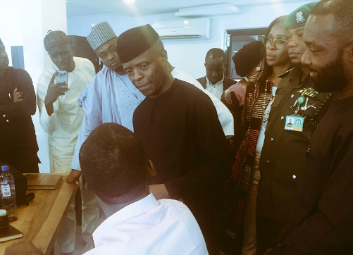Osinbajo, Workstation, #VPTourOfTech