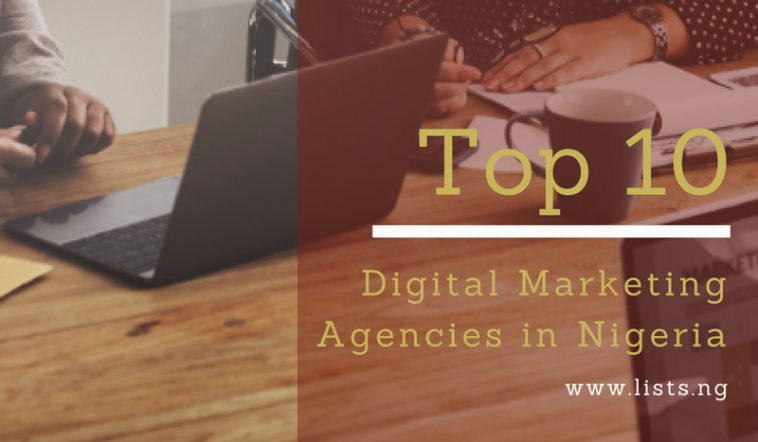 Top Digital Marketing agencies in NIgeria