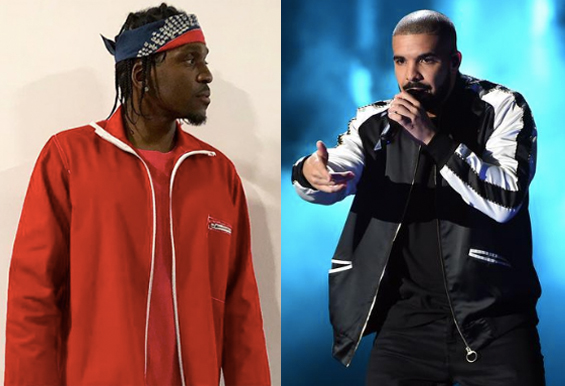 Pusha vs Drake