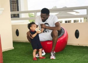 D'Banj and his late son