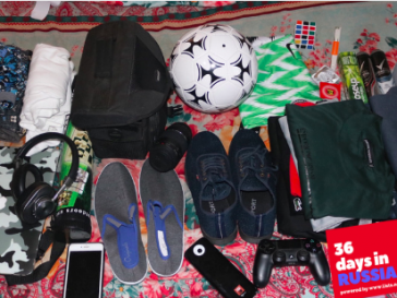Packing for the worldcup, Russia