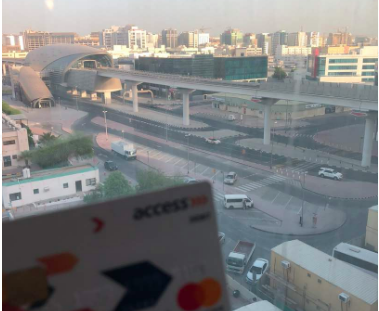 Access Bank Card abroad