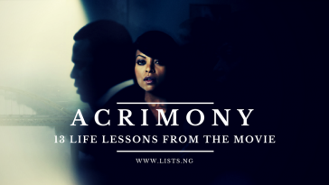 Lessons from Acrimony
