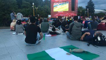 Fan zone Moscow