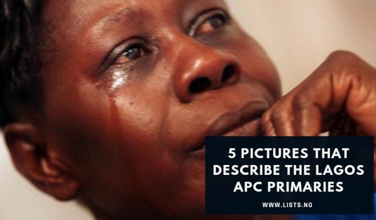Lagos APC Primaries, Ambode, San-Wolu, Tinubu