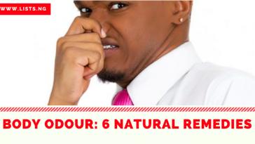 Body Odour Remedy