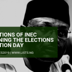INEC Nigeria Elections Postponed
