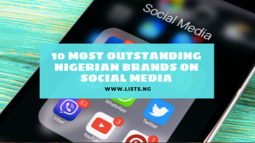 Most outstanding social media brands