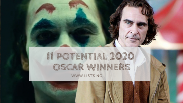 11 potential 2020 oscar winners