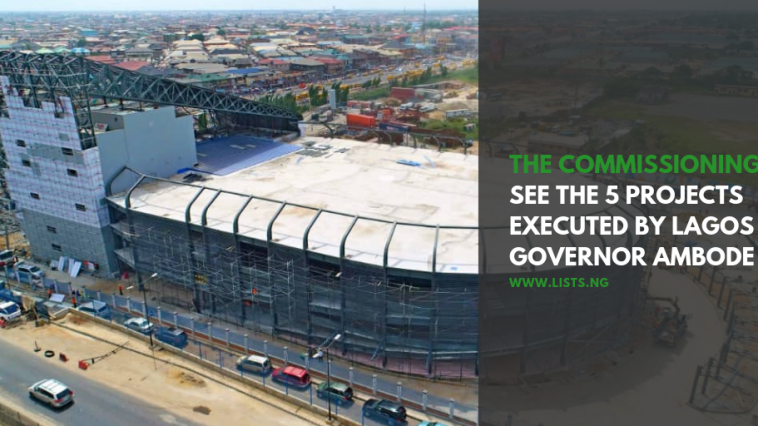 Buhari commissions Oshodi Terminal, project executed by Lagos Governor Ambode