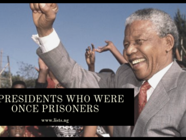 Presidents who were prisoners