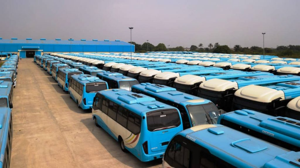Bus Reform Initiative, Lagos