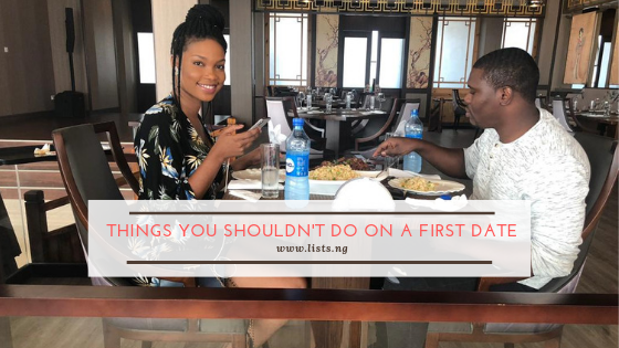 First date dos and don'ts