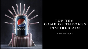 Game of thrones Adverts