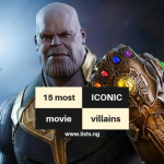 Iconic movie villains