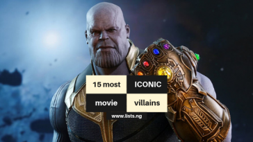 Iconic movie villains