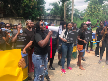 Protest - Abuja Police Raid on Women