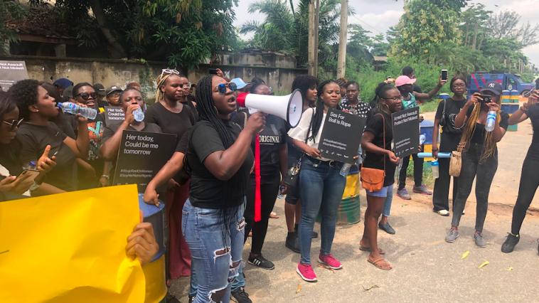 Protest - Abuja Police Raid on Women