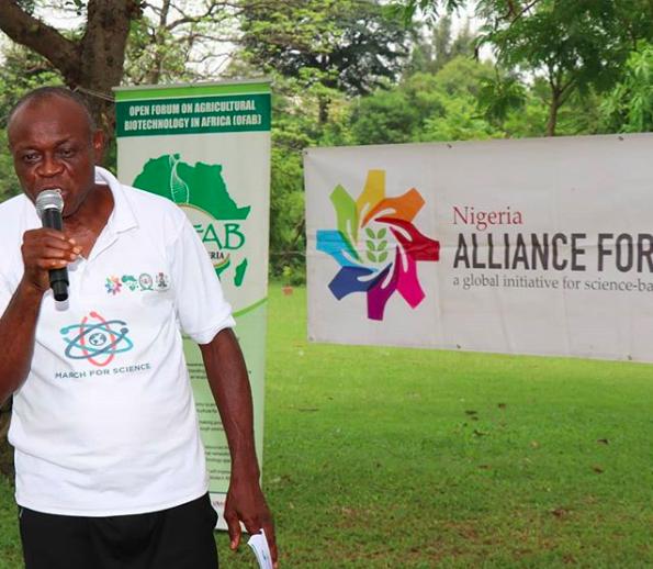 National Vice President, All Farmers Association of Nigeria, Chief Dan Okafor