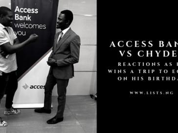 Access Bank Chydee