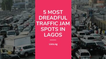 5 most dreadful traffic jam spots in Lagos