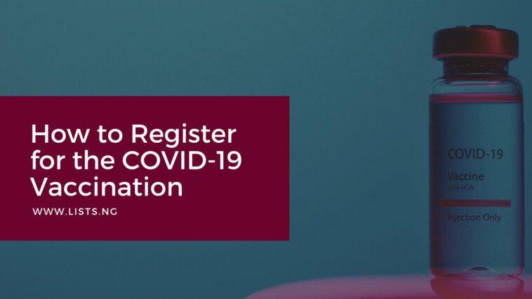 Covid 19 Vaccination - Nigeria