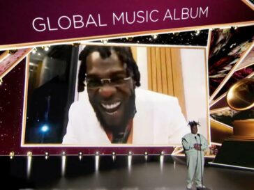Burna Grammy