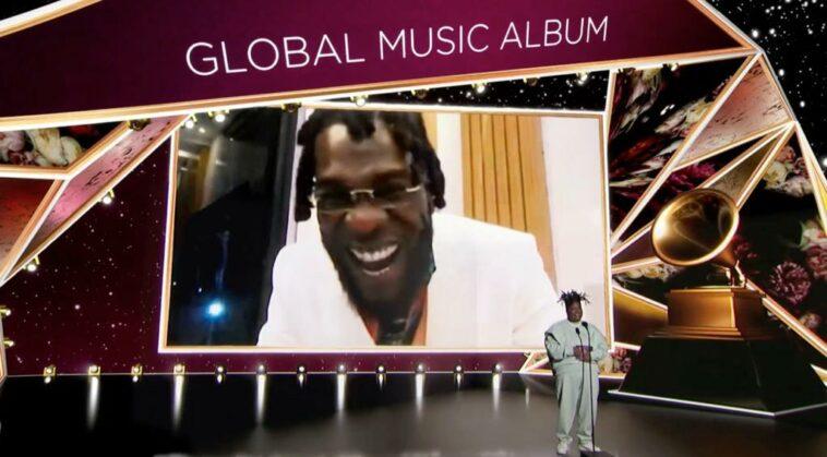 Burna Grammy